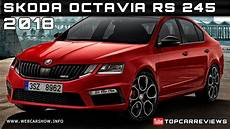 2018 Skoda Octavia Rs 245 Review Rendered Price Specs