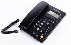 Fashion Call Id Telephone Battery Free Dual