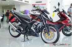 Honda Sonic Modifikasi Velg Jari Jari by Modifikasi New Honda Sonic 150r Velg Jari Cakram Lebar