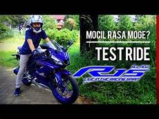R15 V3 Modif Moge by Preview Review Test Ride Drive All New R15 V3 Rasa