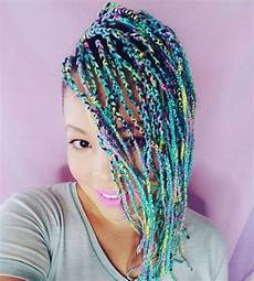 Hairstyles With Yarn Braids