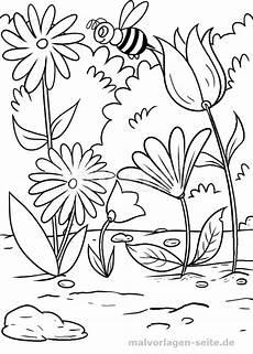 Ausmalbilder Blumen Wiese Pin Auf Ideas For
