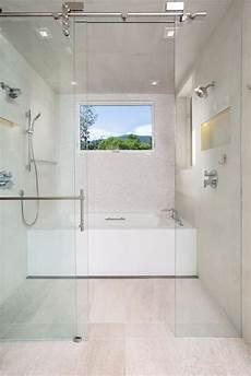 Bathroom Ideas No Bathtub by Bathroom Design Trend No Threshold Showers Hgtv