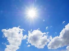 Gambar Horison Langit Putih Sinar Matahari Suasana