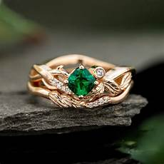 emerald engagement rings custommade com