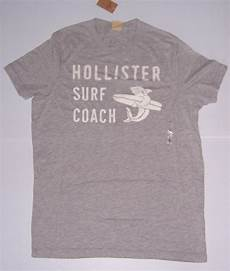 hollister by abercrombie fitch s gray surf coach t