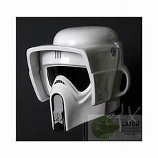 wars scout trooper motorcycle helmet wars efx scout trooper helmet 1 1 replica gator