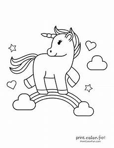 my unicorn 5 different coloring pages to