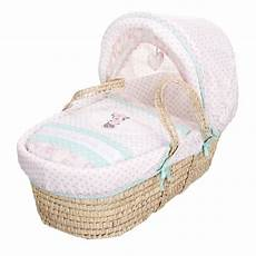 obaby disney minnie mouse moses basket bedding nursery moses baskets from pramcentre uk