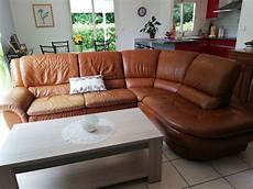 vendre canapé canap 233 s en cuir occasion annonces achat et vente de