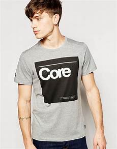 lyst jones t shirt with print in gray for