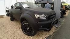 ford ranger matte black up 4x4 new model 2017