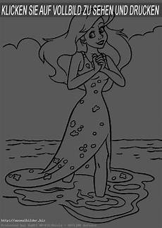Ausmalbilder Meerjungfrau Prinzessin Ausmalbilder