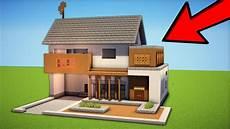 Minecraft How To Build A Modern Suburban House Tutorial