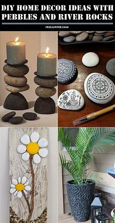 Home Decor Ideas Diy For by 10 Creative Diy Home Decor Ideas With Pebbles And River Rocks