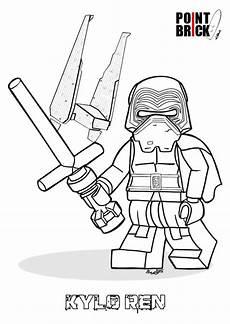 lego wars coloring pages ren kylo disegni da
