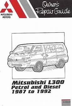 small engine service manuals 1987 mitsubishi l300 spare parts catalogs 1987 1992 mitsubishi l300 petrol diesel russek repair manual