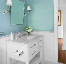 spa blue paint color transitional bathroom sherwin