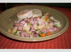 spam and vegetable hash image