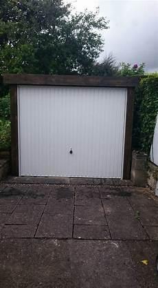 r watson garage portfolio of electric garage door installation across leeds