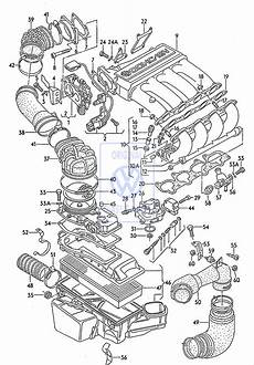 vehicle repair manual 1986 volkswagen gti spare parts catalogs suction pipe golf mk2 gti 16v kr