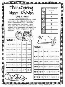 thanksgiving division worksheets 4th grade 6686 thanksgiving math fourth grade thanksgiving activities math board