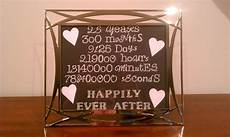 gift i made for my mom dad s 25th wedding anniversary 25th wedding anniversary