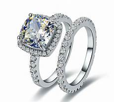 princess cut diamond ring classic halo style cushion shape women wedding ring ebay