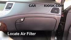automotive air conditioning repair 2009 hyundai genesis security system cabin filter replacement hyundai genesis 2009 2014 2009 hyundai genesis 4 6 4 6l v8