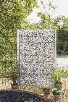 zaungabione steinwand splittgabione gabionenk 246 rbe