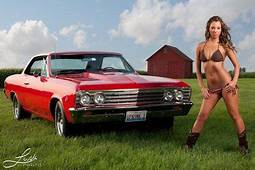 Chevy Car Girls  Chevrolet Chevelle And Model