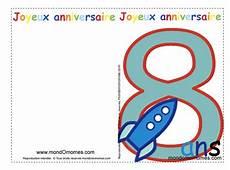 carte anniversaire gratuite 8 ans jlfavero