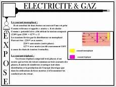 cause chute de tension electricit 233 gaz