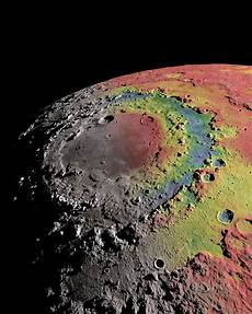 research helps explain formation of ringed crater the moon