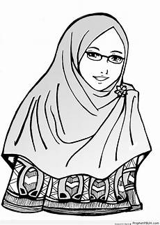 Muslimah In Glasses Drawings Prophet Pbuh Peace Be