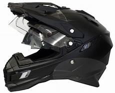 motorradhelm mit verspiegeltem visier motorradhelm mx enduro helm matt schwarz mit visier