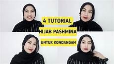 4 Tutorial Pashmina Simple Untuk Kondangan Eka