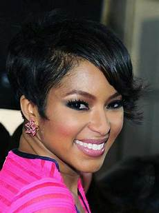 haircut short on one side long on the other 50 best short black hairstyles haircuts 2020 cruckers