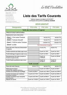tarif désamiantage toiture tarifs courants 2017 couvreurs occitans