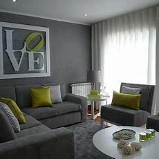 vibrant green and gray living rooms ideas living room