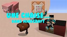 minecraft faire une chaise en minecraft vanilla 1 8 hd fr