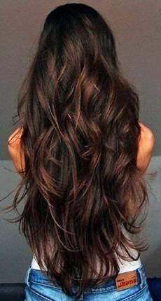 Die Besten 25 Stufenschnitt Lange Haare Ideen Auf