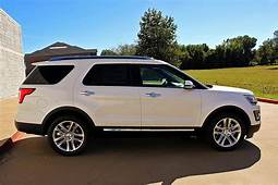 Chrome All Day Everyday 2017 Ford Explorer White