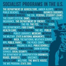 hey america you already have democratic socialist