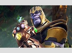 Fortnite Thanos Buffed in New Update Following Fan Complaints