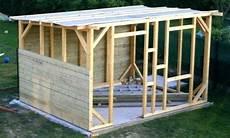 comment construire un abri de jardin en bois id 233 es de