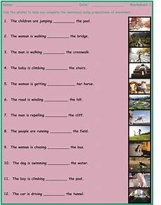 movement prepositions 7 game 2 worksheet bundle esl fun games fun
