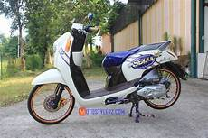 Variasi Motor Scoopy 2018 by Scoopy 2016 Sukabumi Beraroma Simple Thailook