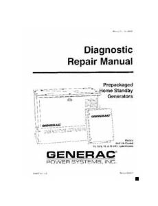 Generac Power Systems 10 Kw Lp Manuals