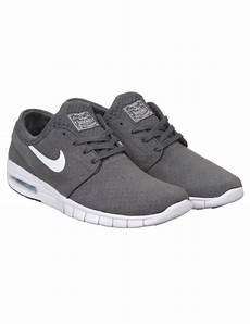 nike sb stefan janoski max l shoe grey white